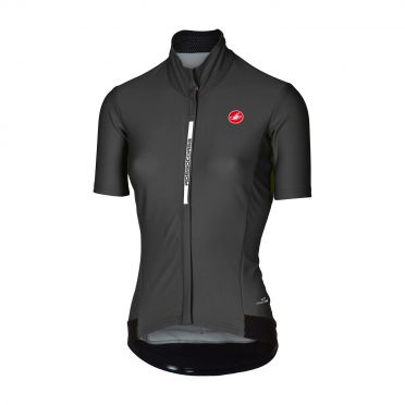 Castelli Gabba 3 W short sleeve jacket black women