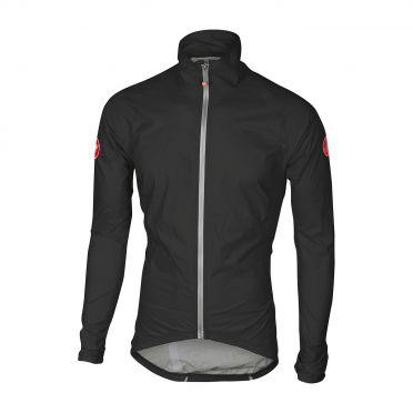 Castelli Emergengy rain jacket black men