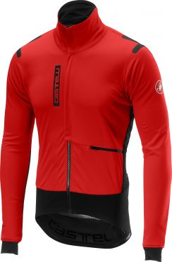 Castelli Alpha RoS jacket red/black men
