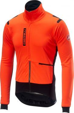 Castelli Alpha RoS jacket orange/black men