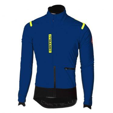 Castelli Alpha RoS jacket blue/black men