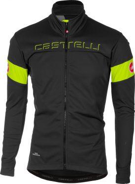 Castelli Transition jacket gray/yellow men