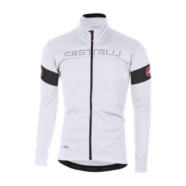 Castelli Transition jacket white/black men