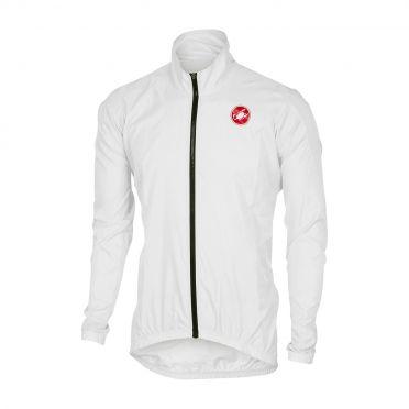 Castelli Squadra jacket rainjacket white men