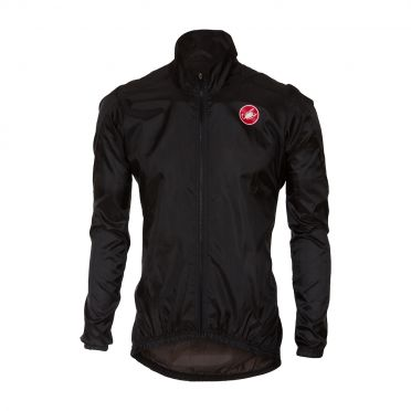 Castelli Squadra jacket rainjacket black men