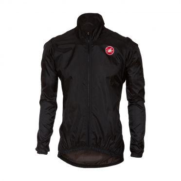 Castelli Squadra jacket rainjacket black men