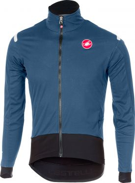 Castelli Alpha ros light long sleeve jersey blue/black men