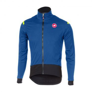 Castelli Alpha ros long sleeve jersey blue men