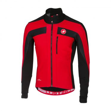 Castelli Trasparente 4 long sleeve jersey red men