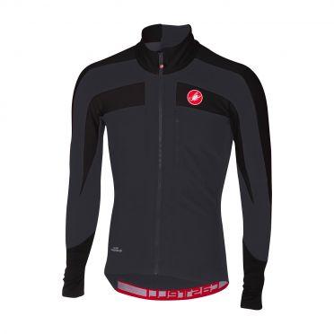 Castelli Trasparente 4 long sleeve jersey black men
