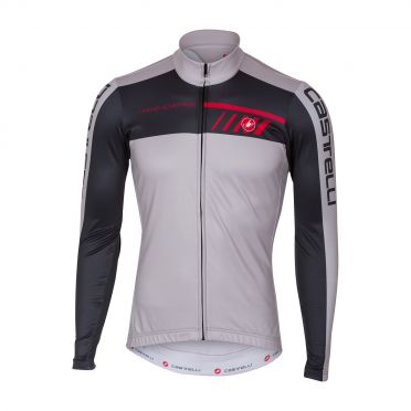 Castelli Velocissimo 2 long sleeve jersey gray/anthracite men