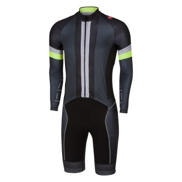 Castelli CX sanremo speedsuit anthracite/black men