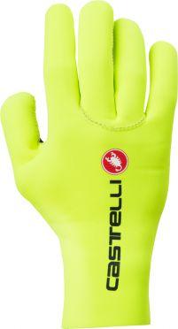 Castelli Diluvio c glove yellow fluo men