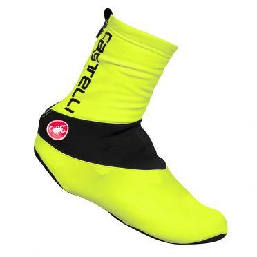 Castelli Evo shoecover yellow fluo men