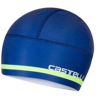 Castelli Arrivo 2 thermo skully under helmet blue men