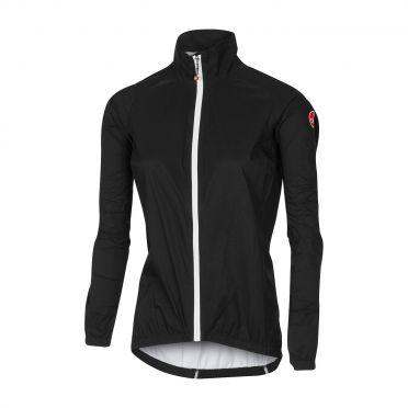 Castelli Emergengy W rain jacket black women