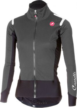 Castelli Alpha ros W long sleeve jersey dark gray women