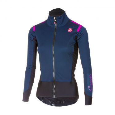 Castelli Alpha ros W long sleeve jersey blue women