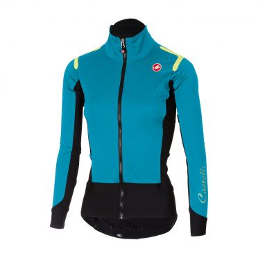 Castelli Alpha ros W long sleeve jersey turquoise women