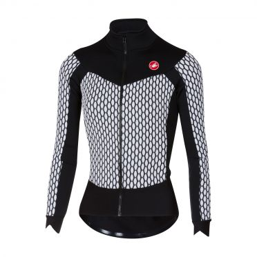 Castelli Sfida W long sleeve jersey white/black women