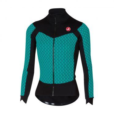 Castelli Sfida W long sleeve jersey turquoise/black women