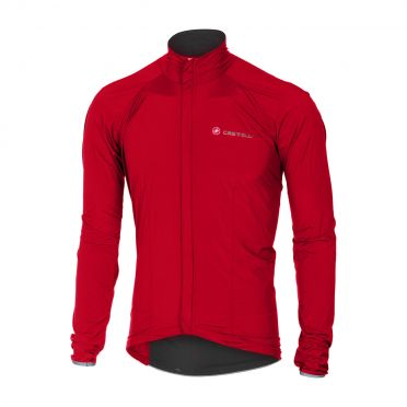 Castelli Sempre jacket red men