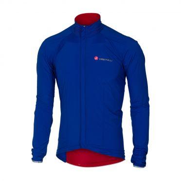 Castelli Sempre jacket blue men