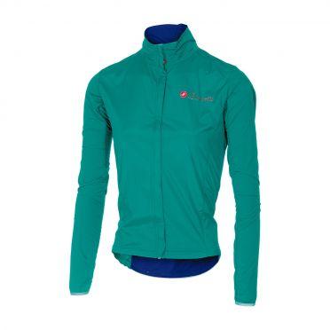 Castelli Sempre W jacket turquoise women