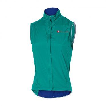 Castelli Sempre W vest turquoise women