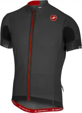 Castelli Aero race 4.1 solid jersey anthracite men