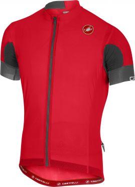 Castelli Aero race 4.1 solid jersey red men
