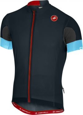 Castelli Aero race 4.1 solid jersey dark blue men