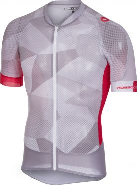 Castelli Climber's 2.0 jersey light gray/red men