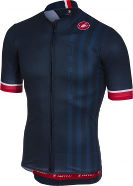 Castelli Podio doppio jersey dark blue men