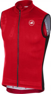 Castelli Entrata 3 jersey sleeveless red men