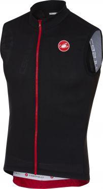 Castelli Entrata 3 jersey sleeveless light black men