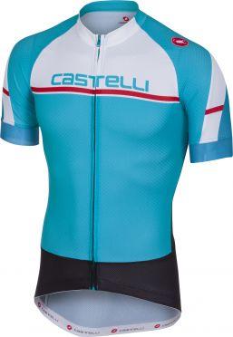 Castelli Distanza jersey light blue men
