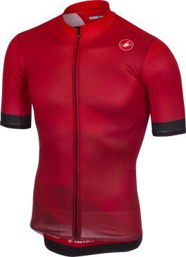 Castelli Flusso jersey red men