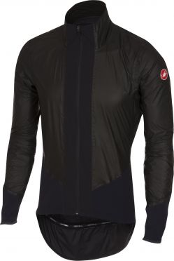 Castelli Idro pro rain jacket black men