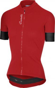 Castelli Anima 2 jersey red women