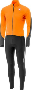 Castelli Sanremo 3 thermosuit orange/black men