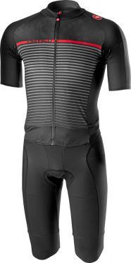 Castelli Classics thermosuit black/dark gray men