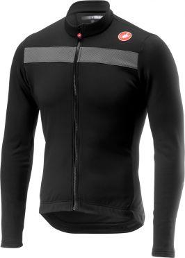 Castelli Puro 3 jersey light black men
