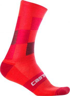 Castelli Diverso 2 18 sock red men