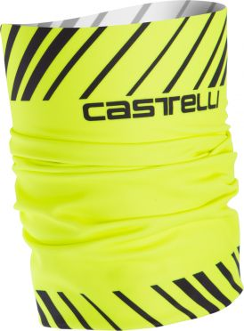 Castelli Arrivo 3 thermo head thingy yellow fluo men