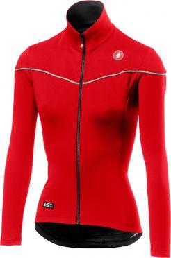 Castelli Nelmezzo ros W jersey red women