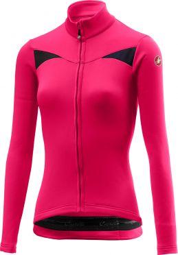 Castelli Sinergia long sleeve jersey magenta women