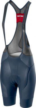 Castelli Free aero 4 W bibshort blue women