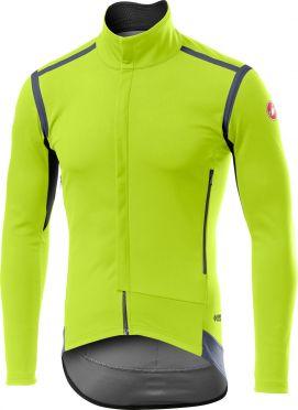 Castelli Perfetto RoS jacket fluo yellow men