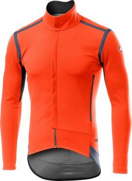 Castelli Perfetto RoS long sleeve jacket orange men